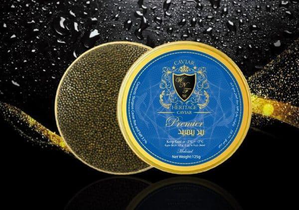 Caviar-Premier-Kaluga-Caviar-Heritage-best-Caviar-Dubai-كافيار