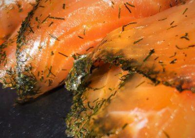 Smoked Salmon Presliced Gravadlax