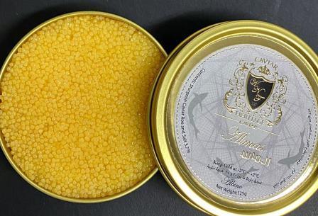 King-of-Caviar-Online-Albino-Almas-Caviar-Heritage-best-Caviar-Dubai-كافيار