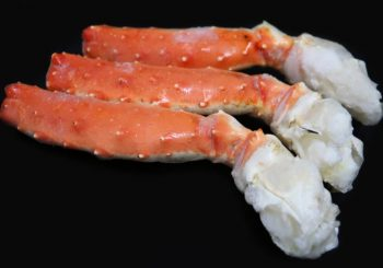 Kamchatka Red King Crab Cooked Merus Meat Shell On frozen